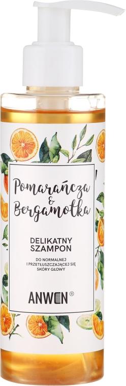 """Sampon """"Narancs és bergamott"""" normál és zsíros hajra - Anwen Orange and Bergamot Shampoo"""