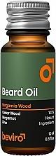 Parfüm, Parfüméria, kozmetikum Szakáll olaj - Beviro Beard Oil Bergamia Wood