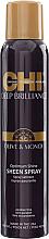 Parfüm, Parfüméria, kozmetikum Hajspray csillogó hatással - CHI Deep Brilliance Olive & Monoi Optimum Shine Sheen Spray