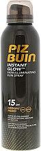 Parfüm, Parfüméria, kozmetikum Ragyogó napozó spray SPF 30 - Piz Buin Instant Glow Skin Illuminating Sun Spray SPF15
