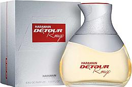Parfüm, Parfüméria, kozmetikum Al Haramain Detour Rouge - Eau De Parfum