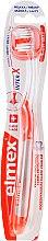 Parfüm, Parfüméria, kozmetikum Fogkefe, lágy, áttetsző - Elmex Toothbrush Caries Protection InterX Soft Short Head