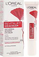 Parfüm, Parfüméria, kozmetikum Szemkörnyékápoló krém - L'Oreal Paris Revitalift Cicacream