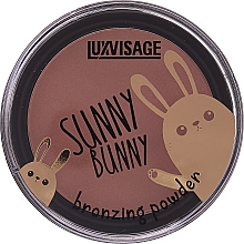 Parfüm, Parfüméria, kozmetikum Bronzosító púder - Luxvisage Sunny Bunny Bronzing Powder