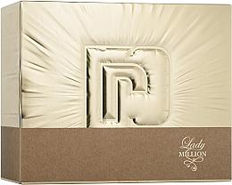Parfüm, Parfüméria, kozmetikum Paco Rabanne Lady Million - Szett (edp/50ml + edp/10ml + b/lot/75ml)