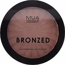 Parfüm, Parfüméria, kozmetikum Bronzosító arcpúder - MUA Bronzed Matte Bronzing Powder