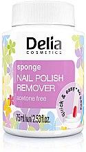 Parfüm, Parfüméria, kozmetikum Szivacsos körömlakklemosó tégely - Delia Sponge Nail Polish Remover Acetone Free