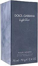 Parfüm, Parfüméria, kozmetikum Dolce & Gabbana Light Blue pour Homme - Deo stift