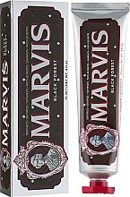 "Parfüm, Parfüméria, kozmetikum Fogkrém ""Fekete erdő"" - Marvis Black Forest"