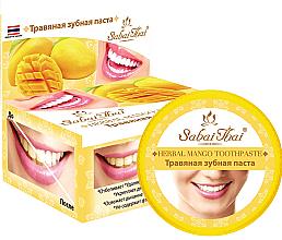 """Parfüm, Parfüméria, kozmetikum Fogkrém """"Mangó"""" - Sabai Thai Herbal Mango Toothpaste"""