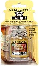 Parfüm, Parfüméria, kozmetikum Autóillatosító - Yankee Candle Car Jar Vanilla Cupcake