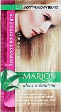 Parfüm, Parfüméria, kozmetikum Tonizáló sampon aloe verával - Marion Color Shampoo With Aloe