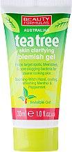 """Parfüm, Parfüméria, kozmetikum Arctisztító gél """"Teafa"""" - Beauty Formulas Tea Tree Skin Clarifying Blemish Gel"""