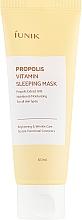 Parfüm, Parfüméria, kozmetikum Regeneráló maszk propolisszal - iUNIK Propolis Vitamin Sleeping Mask