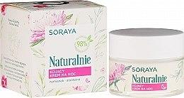Parfüm, Parfüméria, kozmetikum Nyugtató arckrém - Soraya Naturalnie Night Cream