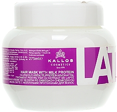 Parfüm, Parfüméria, kozmetikum Maszk sérült hajra - Kallos Cosmetics Latte With Milk Protein Mask