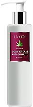 Parfüm, Parfüméria, kozmetikum Narancsbőr elleni testkrém - Livioon Body Cream Hemp Oil Anti-Cellulit