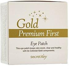 Parfüm, Parfüméria, kozmetikum Szemkörnyékápoló maszk - Secret Key Gold Premium First Eye Patch
