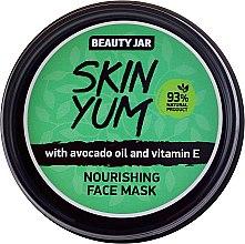 Parfüm, Parfüméria, kozmetikum Tápláló arcmaszk - Beauty Jar Skin Yum Nourishing Face Mask