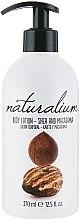 """Parfüm, Parfüméria, kozmetikum """"Shea és makadámia"""" tápláló testápoló - Naturalium Body Lotion"""