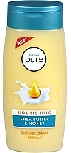 Parfüm, Parfüméria, kozmetikum Krémgél tusfürdő - Cussons Pure Shower Cream Nourishing Shea Butter & Honey
