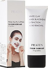 "Parfüm, Parfüméria, kozmetikum ""Fehér agyag"" arcmaszk - Pilaten White Clay Mask Blackhead Extraction Acne Removal"