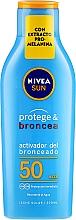 """Parfüm, Parfüméria, kozmetikum Napozást erősítő lotion """"Védelem és napozás"""" - Nivea Sun Care SPF50"""