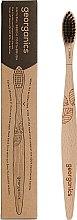 Parfüm, Parfüméria, kozmetikum Bambusz fogkefe - Georganics Charcoal Soft Toothbrush