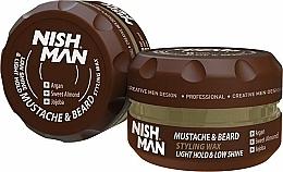 Parfüm, Parfüméria, kozmetikum Szakáll- és bajusz formázó balzsam - Nishman Beard & Mustache Styling Balm