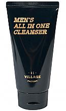 Parfüm, Parfüméria, kozmetikum Hidratáló pelling-hab - Village 11 Factory Men's All In One Cleanser