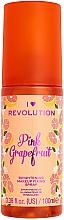 Parfüm, Parfüméria, kozmetikum Sminkfixáló spray - I Heart Revolution Fixing Spray Grapefruit