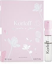 Parfüm, Parfüméria, kozmetikum Korloff Paris Un Jardin A Paris - Eau De Parfum (teszter)