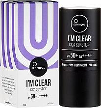 Parfüm, Parfüméria, kozmetikum Napvédő krém - Suntique I'm Clear Cica Sunstick SPF50+/PA+++