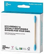 Parfüm, Parfüméria, kozmetikum Bambusz fültisztító pálcika - The Humble Co. Cotton Swabs Blue