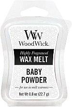 Parfüm, Parfüméria, kozmetikum Aroma viasz - WoodWick Wax Melt Baby Powder