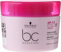 Parfüm, Parfüméria, kozmetikum Maszk festett hajra - Schwarzkopf Professional Bonacure Color Freeze pH 4.5 Treatment