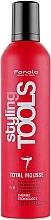 Parfüm, Parfüméria, kozmetikum Extra erős fixáló mousse - Fanola STools Total Mousse Extra Strong Hair Mousse