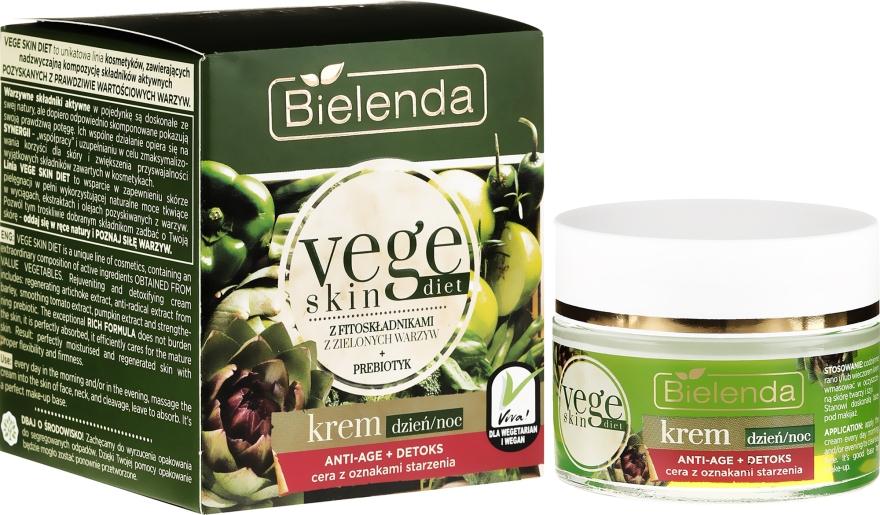 Detox anti age krém - Bielenda Vege Skin Diet