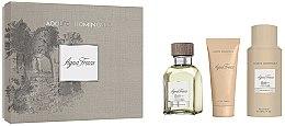 Parfüm, Parfüméria, kozmetikum Adolfo Dominguez Agua Fresca - Szett (edt/120ml+aft/shv/75ml+deo/sp/150)