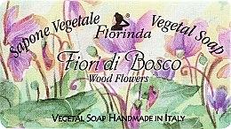 """Parfüm, Parfüméria, kozmetikum Természetes szappan """"Erdei virág"""" - Florinda Sapone Vegetale Vegetal Soap Wood Flowers"""