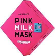 Parfüm, Parfüméria, kozmetikum Arcmaszk - Duft & Doft Pink Milk Mask Tone Up+ Radiance