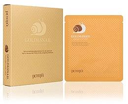 Parfüm, Parfüméria, kozmetikum Hidrogél arcmaszk arany és csiga kivonattal - Petitfee & Koelf Gold & Snail Hydrogel Mask Pack