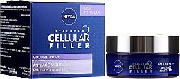 Parfüm, Parfüméria, kozmetikum Anti-age éjszakai arckrém - Nivea Hyaluron Cellular Filler Night Cream