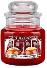Parfüm, Parfüméria, kozmetikum Illatosított gyertya pohárban - Country Candle Salted Caramel Apples