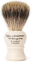 Parfüm, Parfüméria, kozmetikum Borotvapamacs, P2233 - Taylor of Old Bond Street Shaving Brush Pure Badger size S