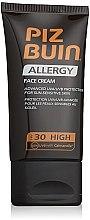 Parfüm, Parfüméria, kozmetikum Napvédő krém arcra - Piz Buin Allergy Face Cream SPF30