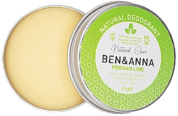 Parfüm, Parfüméria, kozmetikum Természetes krémes dezodor - Ben & Anna Persian Lime Soda Cream Deodorant