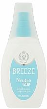 Parfüm, Parfüméria, kozmetikum Breeze Deo Spray Neutro 24h Vapo - Dezodor-spray testre