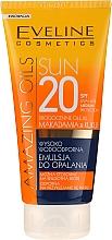 Parfüm, Parfüméria, kozmetikum Napozó emulzió SPF20 - Eveline Cosmetics Amazing Oils
