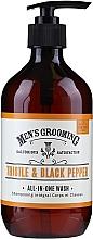 Parfüm, Parfüméria, kozmetikum Tusfürdő - Scottish Fine Soaps Men's Grooming Thistle & Black Pepper All-In-One Wash